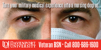 Link to Get Credit for your Military Experience in Healthcare